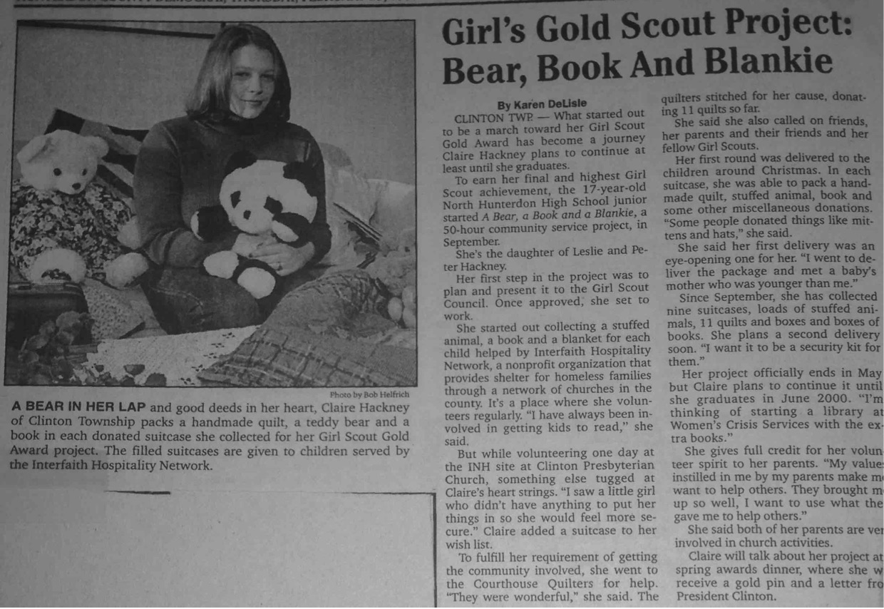 Hunterdon County Democrat, Feb 25, 1999