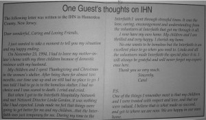 """Hospitality"" Volume 6, Issue 1, Summer 1995"